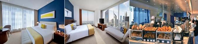 Middle East Energy Dubai 2021 fuarı için hazırladığımız paket programlarda Voco Dubai Hotel'de konaklama , uçak bileti ve transferler dahildir.