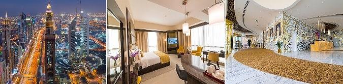 Dünyanın en yüksek oteli ünvanına sahip Gevora Hotel'in odaları 45 metrekaredir.