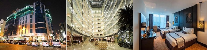 Holiday Inn Dubai AL Barsha , AL Barsha bölgesinde metro istasyonuna 4 dakikalık yürüyüş mesafesinde bir oteldir.