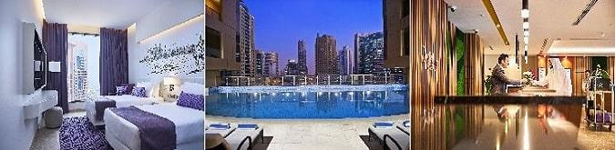 Mercure Hotel & Apartments Dubai Barsha Heights 4* , Dubai Internet City Metro İstasyonu'na 100 metre mesafededir.