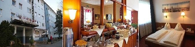 Munich Camen Hotel 3* Harras bölgesinde bulunan bütçe dostu bir oteldir.