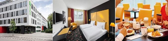 Holiday Inn Munchen Westpark Hotel 4* Harras metro istasyonuna 350 metre mesafededir.