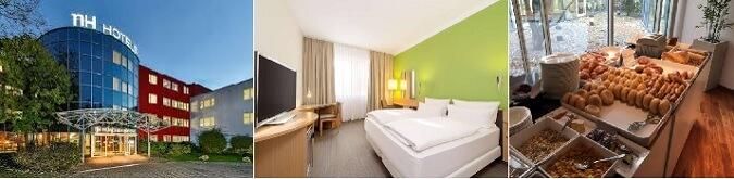 NH Munchen Messe 4* Otel, fuar alanına 5 KM olup , önemli fuarlarda ücretsiz shuttle hizmeti vermektedir.
