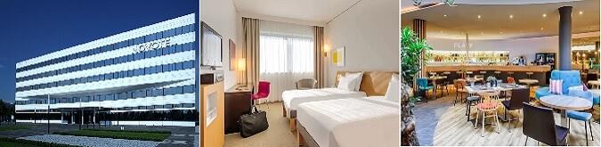 Munich Novotel Airport Hotel tren istasyonuna yürüyüş mesafesindedir.