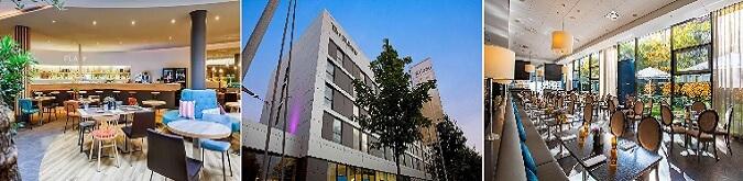 Rilano Hotel Munich 4* Schwabing bölgesindedir.